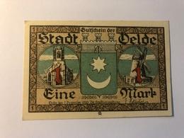 Allemagne Notgeld Delde 1 Mark - Collections