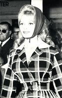 French Actress Brigitte Bardot (1960s) Netter's Star RPPC - Entertainers