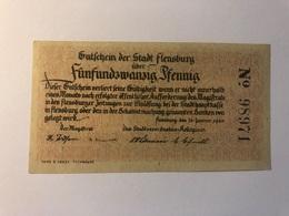 Allemagne Notgeld Flensburg 25 Pfennig - Collections