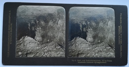 PHOTO STEREOSCOPIC STEREO KALL UND STEINSALZBERGWERK - Stereo-Photographie