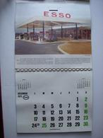 CALENDRIER ESSO 1974 - PROVINCES ET GASTRONOMIE DE FRANCE - STATION ESSO - PRODUITS PETROLIERS L. TALOU - 64 - ARAMITS - Calendriers