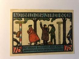 Allemagne Notgeld Goch 75 Pfennig - Collections