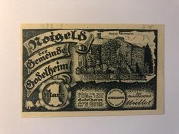 Allemagne Notgeld Godelheim 1 Mark - Collections