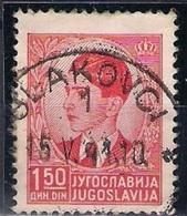 CROATIA 1941. Rare Cancelation SLAKOVCI - Croatia