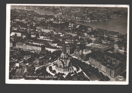 Stockholm - Södermalm Med Sofiakyrkan - 1939 - Suède