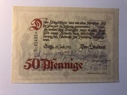 Allemagne Notgeld Gotha 50 Pfennig - Collections
