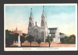 Sainte-Anne De Beaupré - The New Church / La Nouvelle église - Ste. Anne De Beaupré