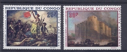 190031663   CONGO  YVERT    AEREO  Nº  71/2  **/MNH - República Democrática Del Congo (1964-71)
