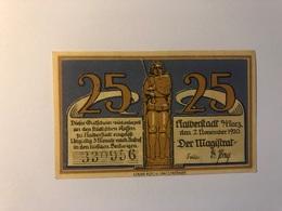 Allemagne Notgeld Halberstadt 25 Pfennig - Collections