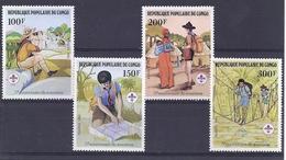 190031665   CONGO  YVERT    Nº  663/6  **/MNH - República Democrática Del Congo (1964-71)