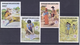 190031665   CONGO  YVERT    Nº  663/6  **/MNH - Nuevas/fijasellos
