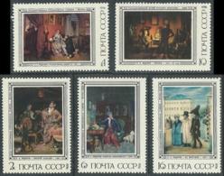 1976 RUSSIA QUADRI PITTORE P.L. FEDOTOV MNH ** - UR23-8 - 1923-1991 URSS