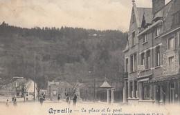 Aywaille   La Place Et Le Pont - Aywaille