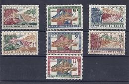 190031668   CONGO  YVERT    Nº  507/513  **/MNH - República Democrática Del Congo (1964-71)
