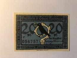 Allemagne Notgeld Merseburg 20 Pfennig - Collections