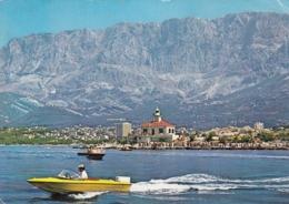 Makarska Croatia Lighthouse Postcard Phare Leuchtturm Faro 1973 - Faros