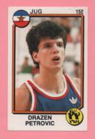 Figurina Panini 1988 N°152 - Drazen Petrovic - Basket - Non Classificati