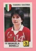 Figurina Panini 1988 N° 155 - Teodora Ravenna, Manuela Benelli - Volley - Sports