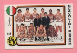 Figurina Panini 1988 N° 148 - Scavolini Pesaro - Basket - Non Classificati