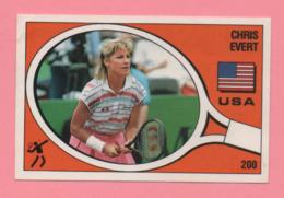 Figurina Panini 1988 N° 200 - USA - Chris Evert - Tennis - Tarjetas
