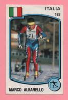 Figurina Panini 1988 N° 185 - Marco Albarello - Sci - Sport Invernali