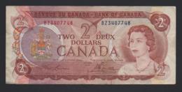 Banconota Canada -2 Dollari 1974 - BB - Canada