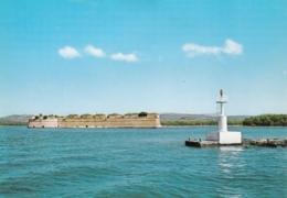 Sibenik Croatia St Nicholas Fortress Lighthouse Postcard Phare Leuchtturm Faro - Lighthouses