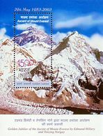 INDIA 2003 Mt. Everest MINIATURE SHEET 10nos. M/S MNH - India