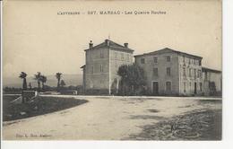 Marsac En Livradois Canton Ambert Les Quatre Route - Ambert