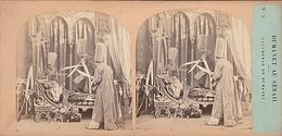 PHOTO STEREO 19 Eme DUMANET AU SERAIL CAUCHEMAR DE DUMANET N° 9 Humour épisode De La Guerre D' Alger - Fotos Estereoscópicas