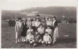 Aywaille    L'équipe Féminine Aqualienne Au Terrain Des Crétalles 1931 - Aywaille