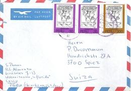 Airmail Brief  Cusco - Spiez            1981 - Peru