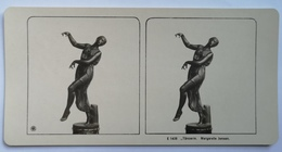 PHOTO STEREOSCOPIC STEREO DANCERESS TÄNZERIN  ART  MAGARETE JENSEN - Stereo-Photographie