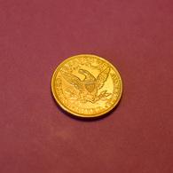 Etats-Unis 5 Dollars OR 1895 - Émissions Fédérales