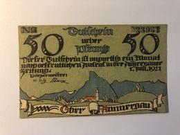 Allemagne Notgeld Oberammergau 50 Pfennig - Collections