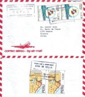"Airmail Brief  ""Prelatura De Huari, CEPAS"" - Genève            1992 - Peru"