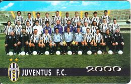 SAN MARINO - JUVENTUS FC 2000, TCP/Westel Promotion Prepaid Card, Tirage 15000, Exp.date 30/06/00, Used - San Marino