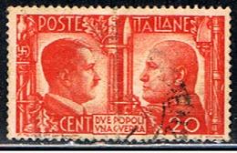 ITA 496 // YVERT 433 // 1941 - 1900-44 Victor Emmanuel III