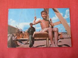 Community Center US Forces In Mekong-- Stamps On Back Block Information On Back Of Card Vietnam -ref 3368 - Vietnam
