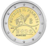 Italy, 2 Euro, 2015, EXPO 2015 Milan - Italy