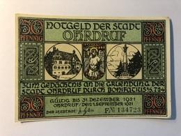 Allemagne Notgeld Ohrdruf 50 Pfennig - Collections