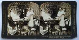 PHOTO STEREOSCOPIC STEREO COUPLE FASHION 1906. - Stereo-Photographie