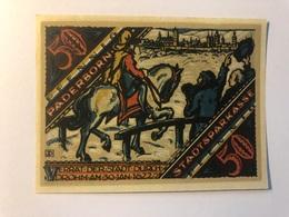 Allemagne Notgeld Paderborn 50 Pfennig - Collections