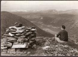 Utsikt Fra Soleggen Mot Lom - Norvège