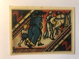 Allemagne Notgeld Paderborn 2 Mark - Collections