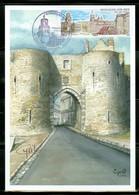 Boulogne-sur-Mer; La Porte Gayole.  Année 2014. Carte Maximum Card. (0965) - 2010-...