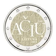 Lithuania, ACIU, 2015, 2 Euro - Lithuania