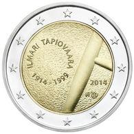 Finland Ilmari Tapiovaara, 2014, 2 Euro - Finlande