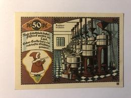 Allemagne Notgeld Possneck 50 Pfennig - Verzamelingen