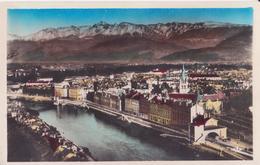 CSM - 197. GRENOBLE - Vue Générale Et Les Alpes - Grenoble